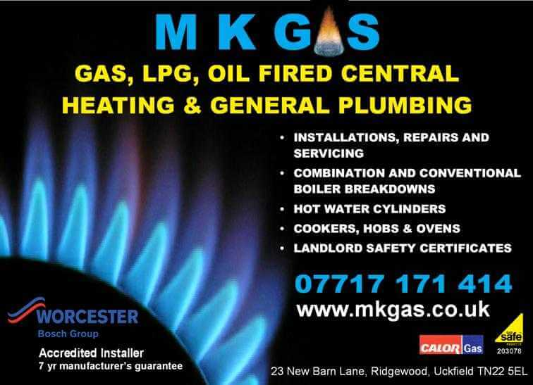 Intallation, Repair and Servicing Gas Boilers Uckfield Sussex